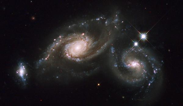 Galaxy Triplet Arp 274