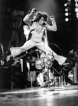 Get on up: What the Godfather of Soul knew about rhythm