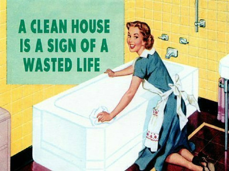 Are depressed people too clean?