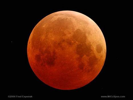 The lunar eclipse has not coincided with the Winter Solstice since 1638