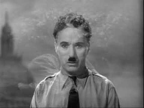 Chaplin's shocking and truly timeless speech on the future of humanity 1