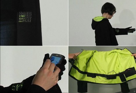 Ground-breaking research: Incredible clothing that senses moods and soothes