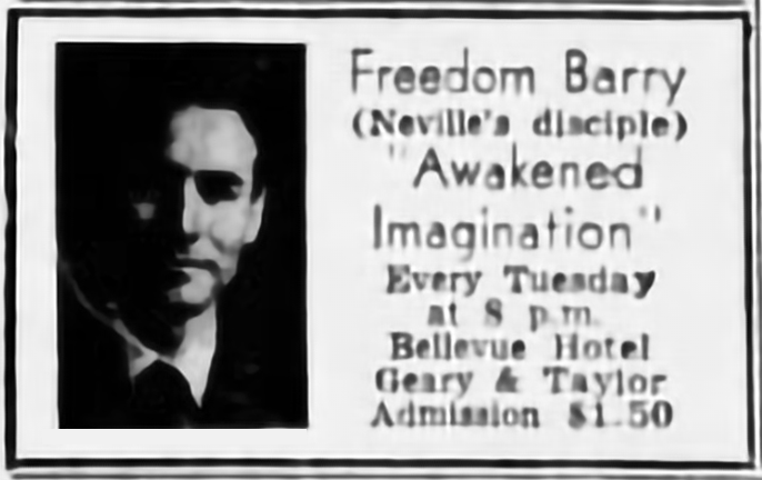 "Transcript Of ""Freedom On The Beach"" Lecture By Freedom Barry [Neville Goddard]"