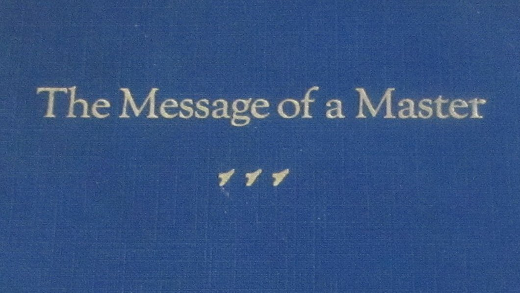 "John McDonald: ""The Message of a Master"" (1929)"