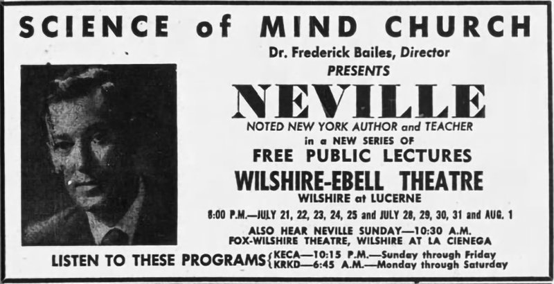 Neville Science of Mind Church